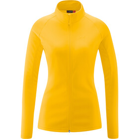 Maier Sports Ines Microfleece Jacket Women, dandelion
